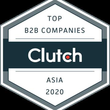 Clutch Top B2B Companies Asia 2020